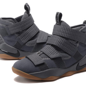 Tenis Lebron James Soldier 11 Gray