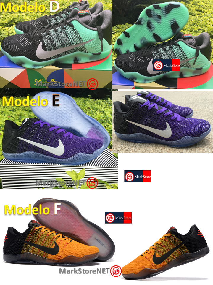tenis-nike-kobe-11-elite-low-modelos-mexico