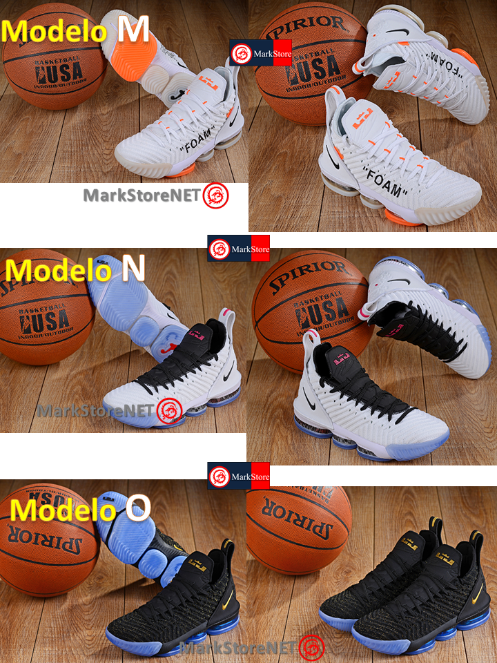 tenis-nike-lebron-james-16-modelos-mexico